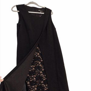 NWT! Sparkly Lace Black Dress!